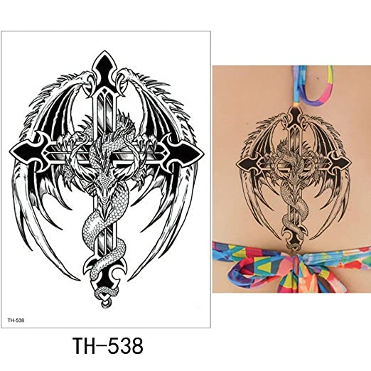 adgkitb Etiqueta engomada Temporal del Tatuaje de 3pcs Fake Tatoo ...