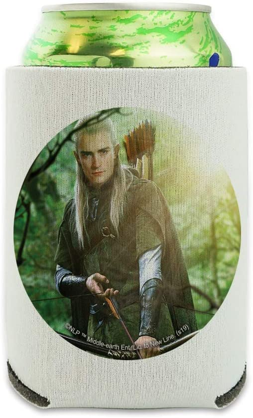 The Lord of the Rings Legolas Character Can Cooler - Drink Sleeve Hugger Collapsible Insulator - Beverage Insulated Holder