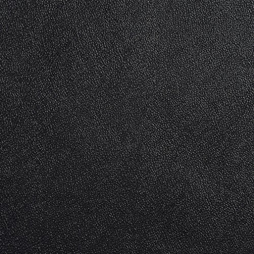 (Black Charcoal Plain Light Animal Hide Texture Automotive Vinyl Upholstery Fabric by the yard)