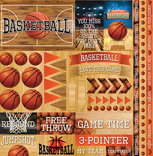 (Reminisce Basketball 2 Elements Stickers 12
