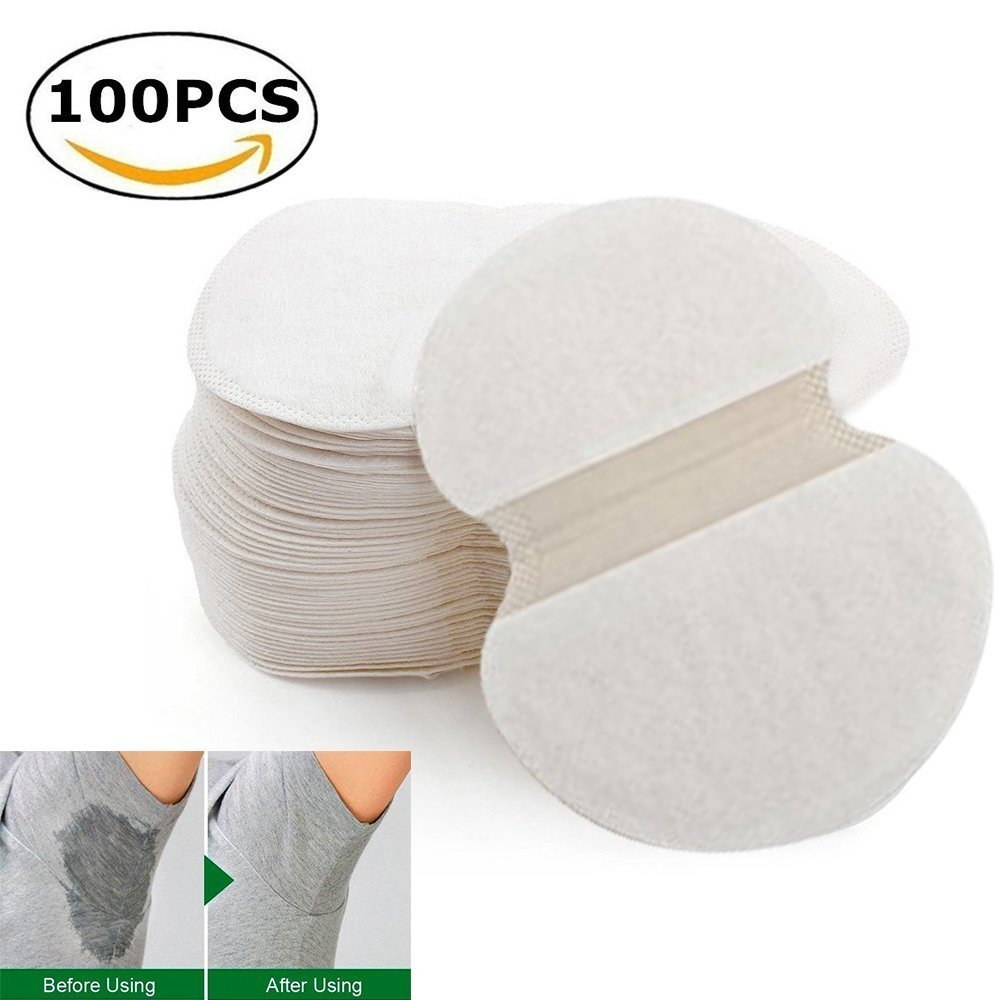 50Pairs Armpit Sweat Block Antiperspirant Sticker, Dress Shields For Men Women, Still Cool Under Arm Protector