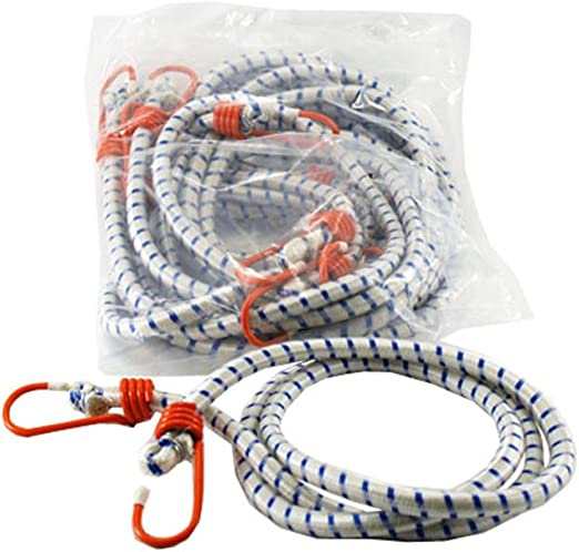 "2x EXTRA LONG BUNGEE CORDS 72/"" Heavy Duty Shock Cable Elastic Stretch Tie Downs"