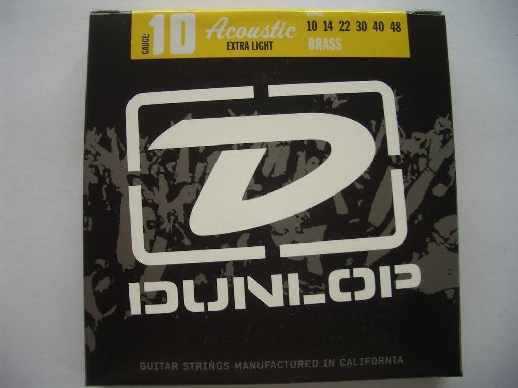 Set de 3 S JIM DUNLOP cuerdas de la guitarra acústica 10-48 x/luz ...