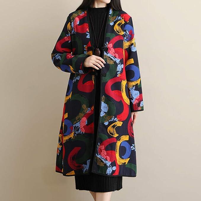 Amazon.com: 4Clovers - Chaqueta de algodón para mujer ...