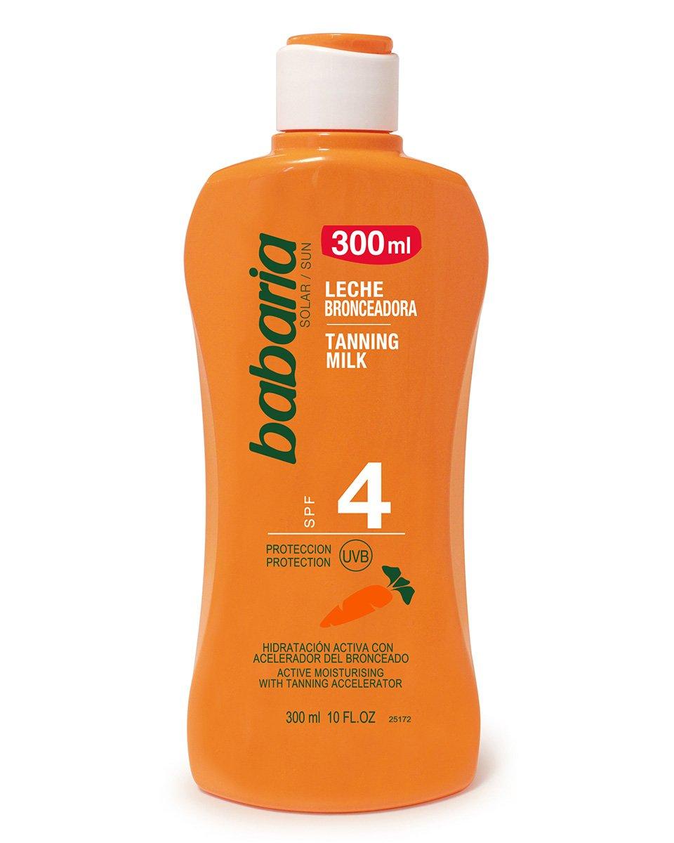Babaria Carrot Oil Tanning Milk Factor 4 300ml