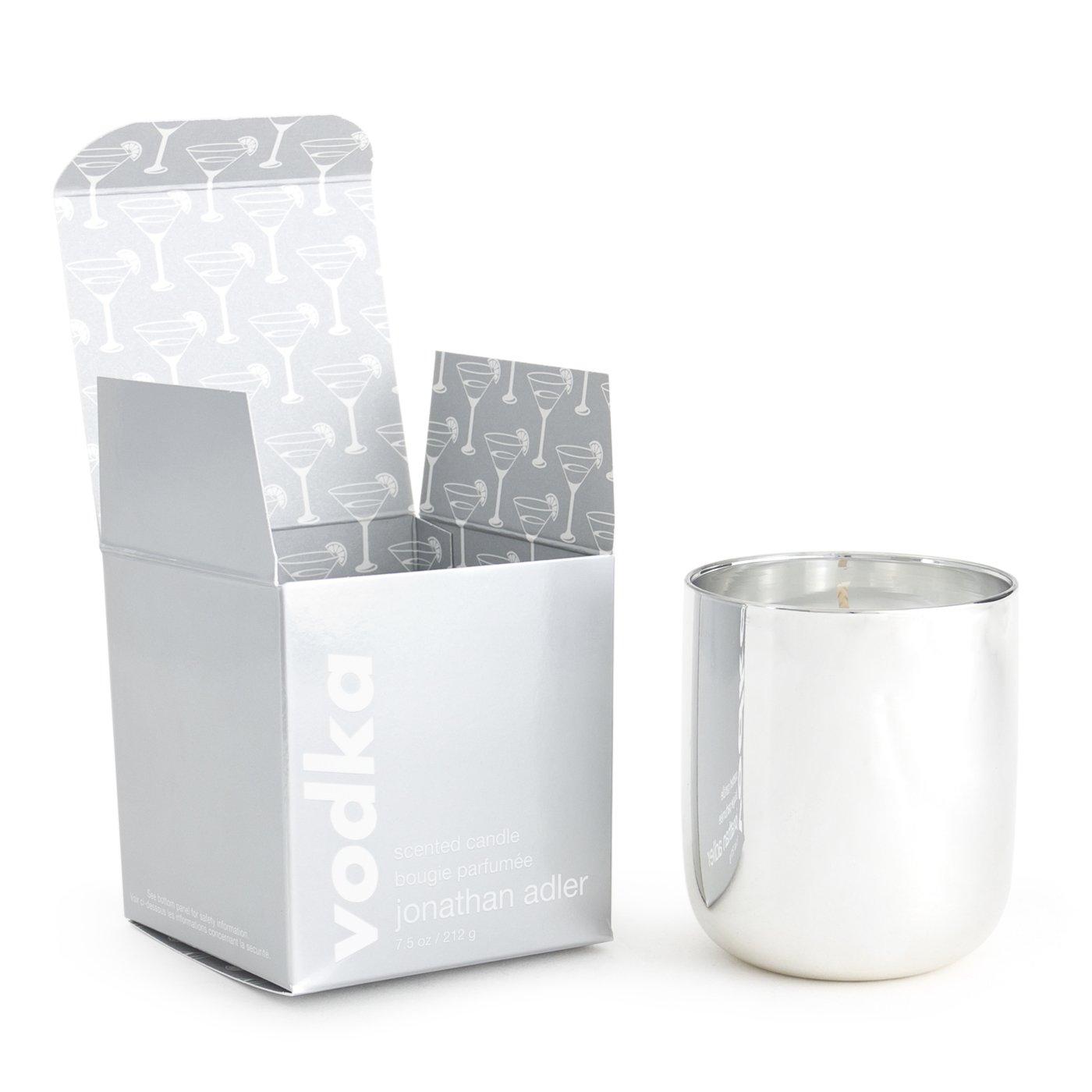 Jonathan Adler Pop Vodka Scented Candle, Silver