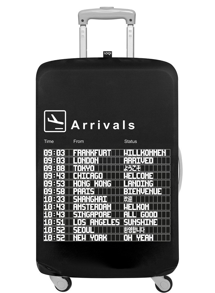 LOQI AIRPORT Arrivals Luggage Cover Housse de bagages.