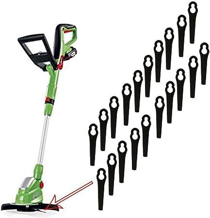 100 50 Grass Lawnmower Trimmer Strimmer Plastic Blades For Bosch Replacement