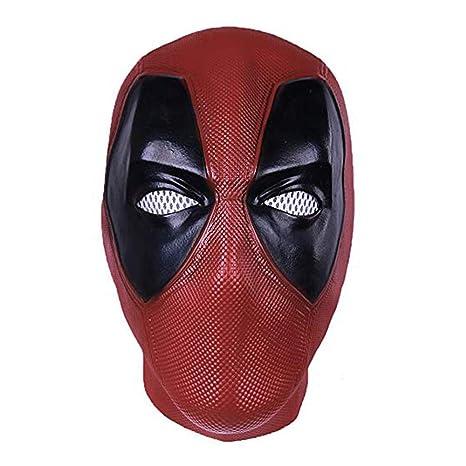 Hope Máscara de Deadpool de Halloween Cosplay Traje de látex ...