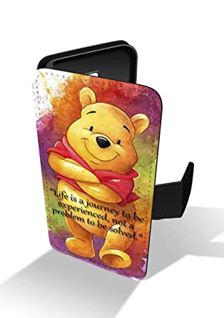 wholesale dealer 947c2 25cb7 Winnie The Pooh Life Quote Disney Honey Faux Leather Phone Case for ...