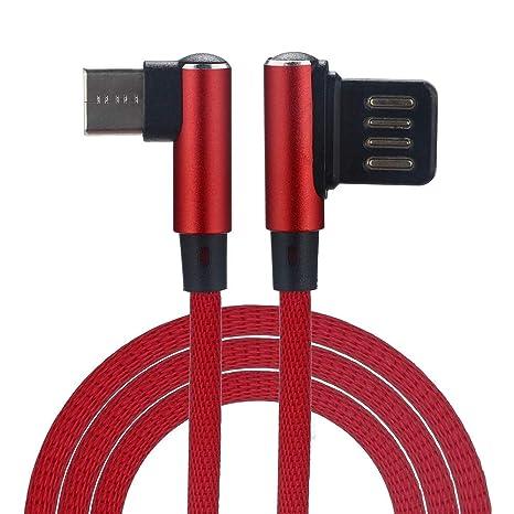 Vimoli Tipo C Cable Nylon Trenzado L Shape Duradero Carcasa ...