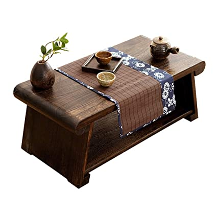 Meng Wei Shop Foldable Coffee Table Solid Wood Coffee Table