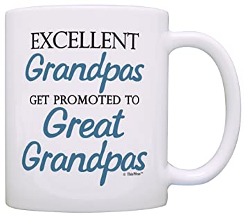 1a48241c68d Image Unavailable. Image not available for. Color: Great Grandpa Gifts  Excellent Grandpas Get Promoted ...