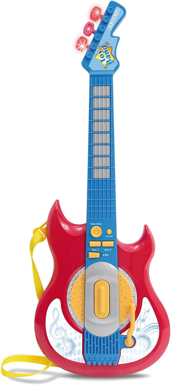 Bontempi GE 5930 - Guitarra electrónica de Juguete, Color Azul (GE ...
