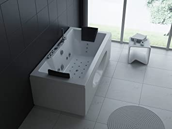 Luxus Whirlpool Badewanne 180x90 In Vollausstattung (Massage)   Sonderaktion