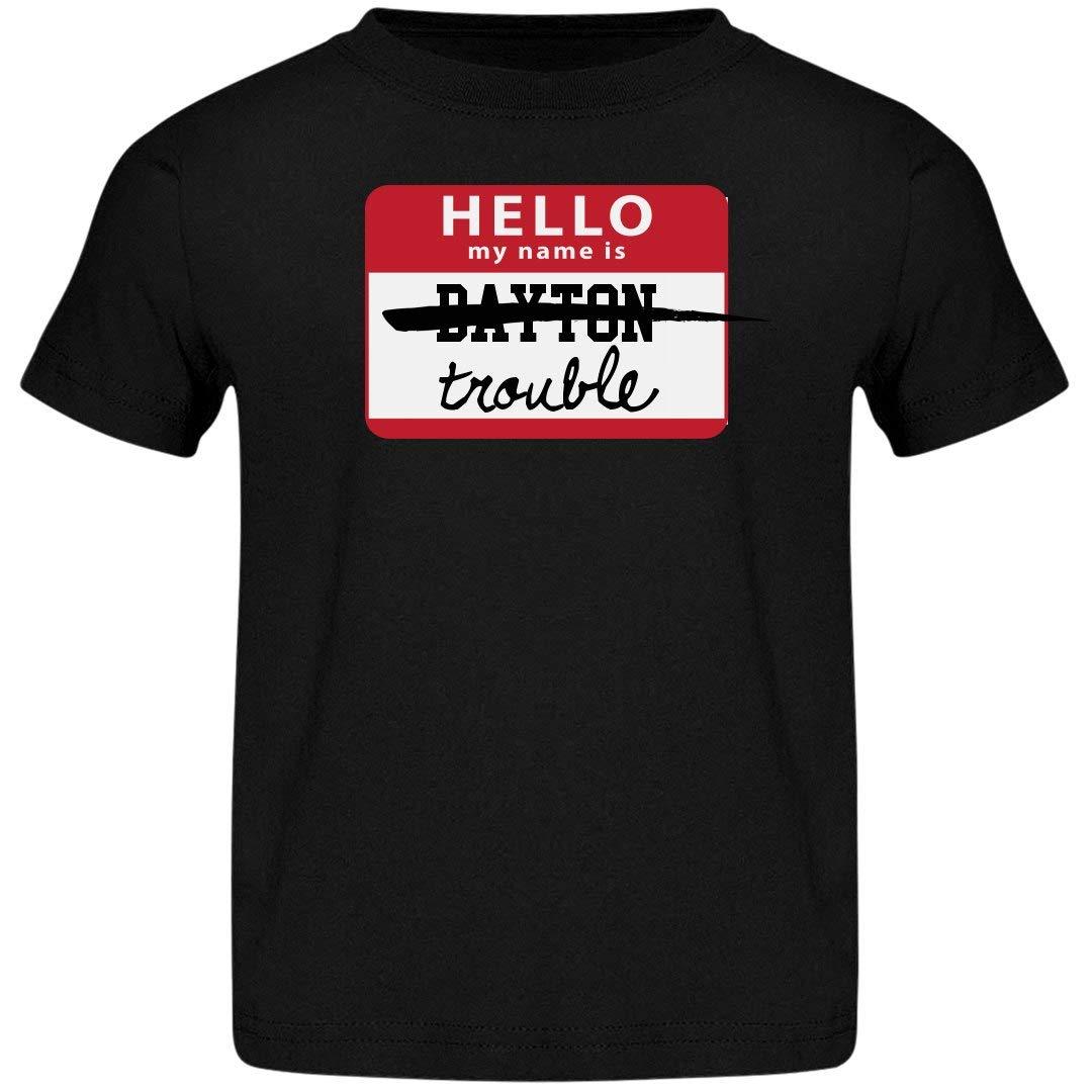 Amazon Funnyshirts My Name Is Dayton Trouble Jersey