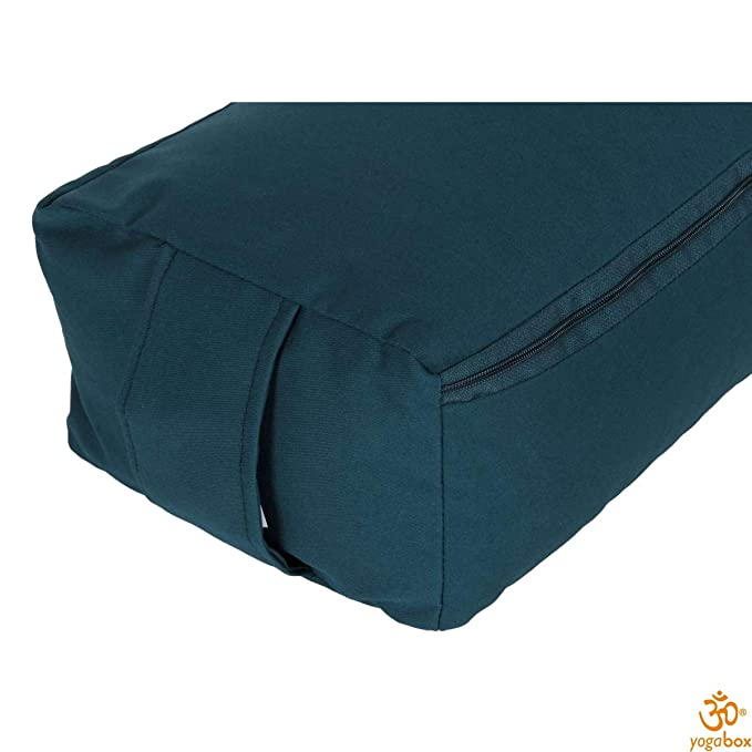 Yoga y Pilates Rechteckbolster Made in Germany, Gris: Amazon ...