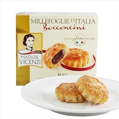 Matilde Vicenzi, Dulce de chocolate (Hojaldres) - 4 de 65 gr. (Total 260 gr.): Amazon.es: Alimentación y bebidas