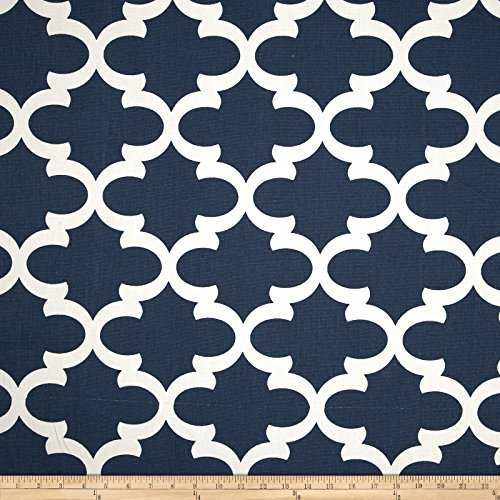 Premier Prints Fynn Premier Navy Fabric By The Yard (Medium Weight Upholstery Fabric)