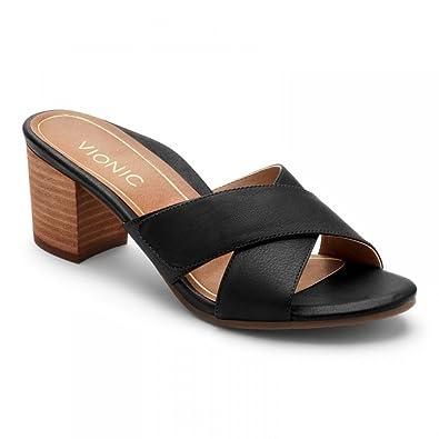 90f238309965 Vionic Women s Lorne Slide Sandal Black ...