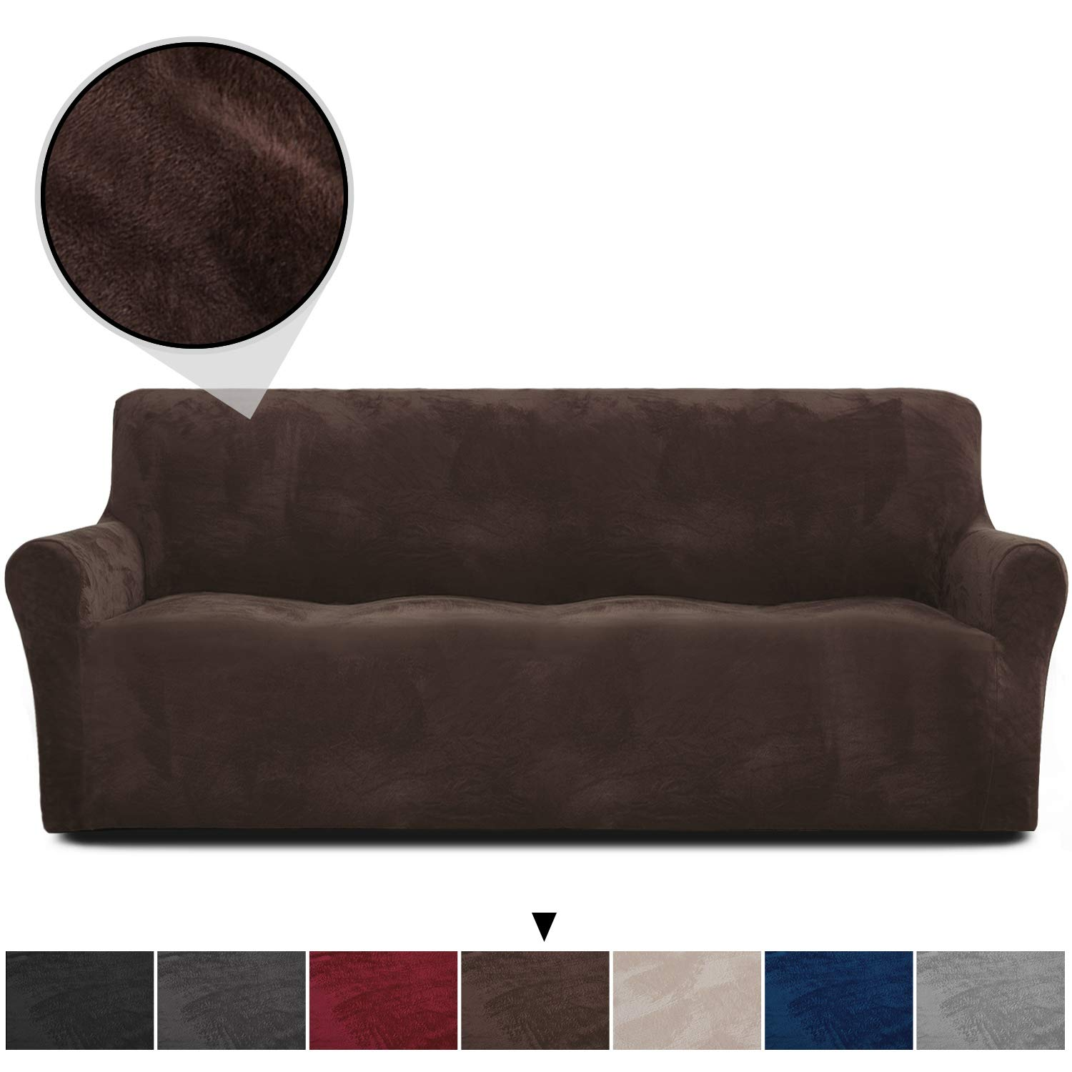 Astonishing Rose Home Fashion Rhf Velvet Sofa Slipcover Stretch Sofa Cover Slipcover For Leather Couch Polyester Spandex Sofa Slipcovercouch Cover For Dogs Gmtry Best Dining Table And Chair Ideas Images Gmtryco
