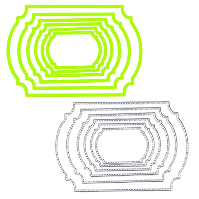 WOZOW - Plantilla de Metal para Troquelado de Metal con ...