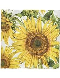 PickUp Abbott Collection Large Jumbo Sunflower Paper Napkins saleoff