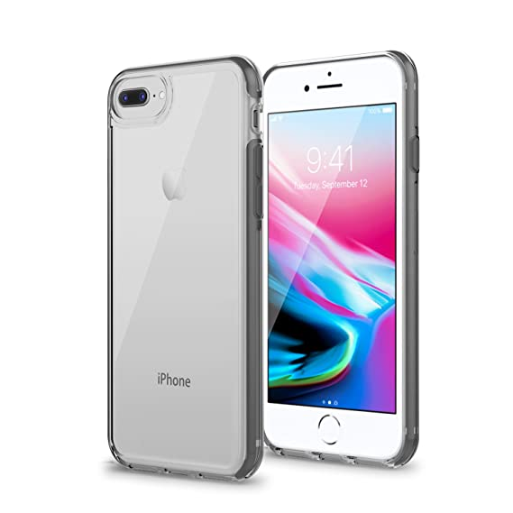 new arrival f00c7 9540f iPhone 8 Plus Clear Case, Artifit iPhone 7 Plus Case Clear, Ultra Hybrid  Shockproof Case, Drop Protection Lightweight Slim Grip Cover,Camera ...
