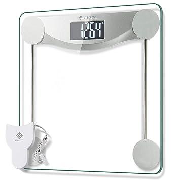Amazon.com: Etekcity - Báscula digital de peso corporal para ...