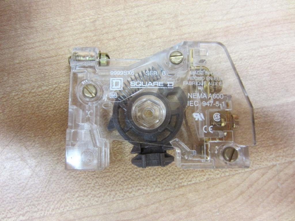 Auxiliary Contact, 10A, 1NO