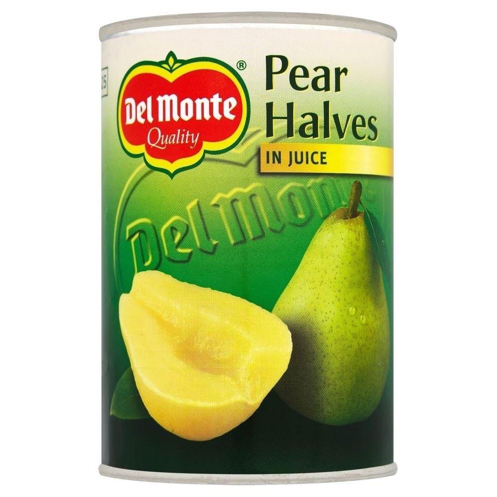 Del Monte Pear Halves in Juice (415g) - Pack of 6