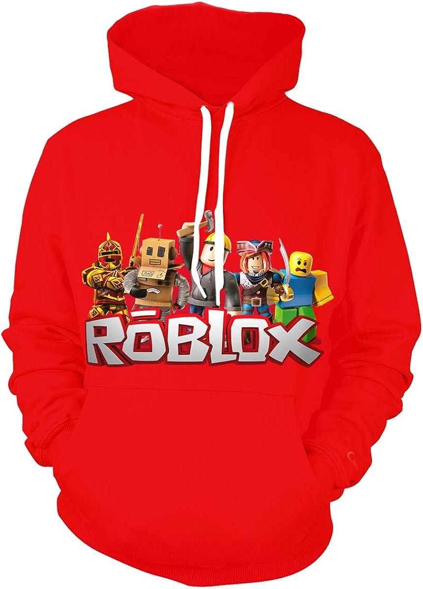 Unisex Children's Hoodie 3D Printing Pullover Hooded Sweatshirt