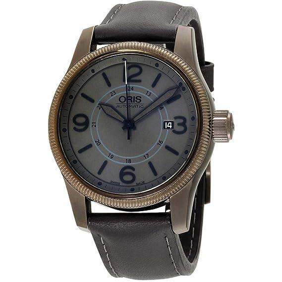Oris Big Crown Reloj de Hombre automático 44mm 01 733 7629 4263-LSBLK