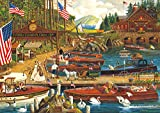 Buffalo Games - Charles Wysocki - Lost in The Woodies - 300 Large Piece Jigsaw Puzzle