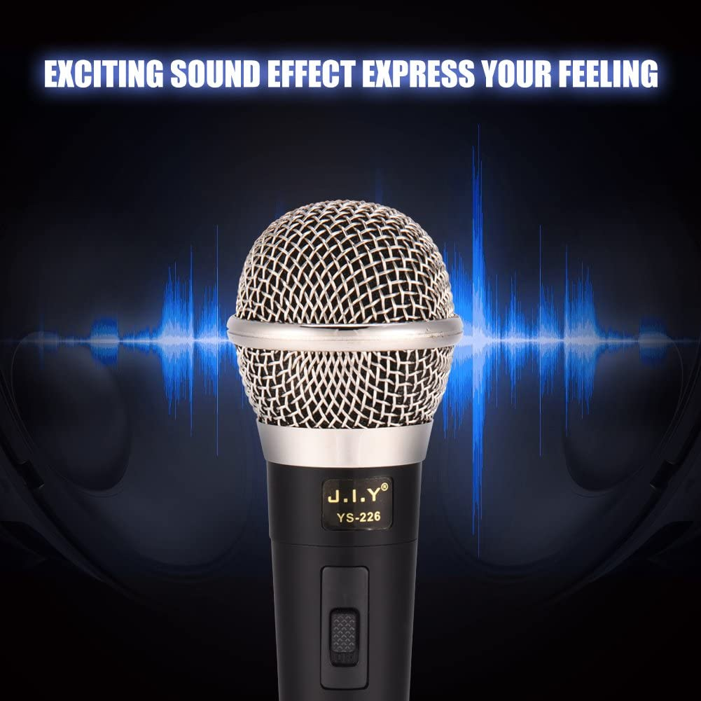 Handheld Professional Wired Dynamic Microphone Clear Voice for Karaoke Vocal
