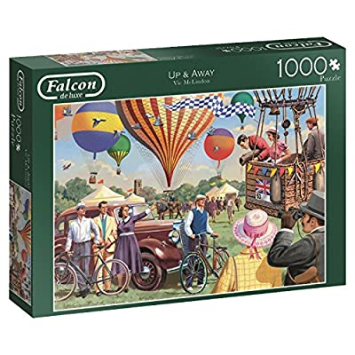 Jumbo Spiele 11189 Puzzle Da 1000 Pezzi Falcon Up Away