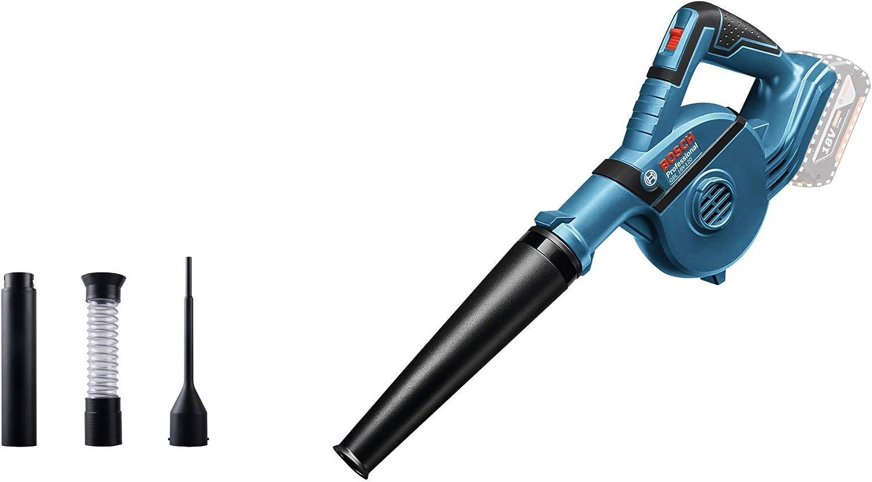 Bosch Professional GBL 18V-120 Soplador, 17000 rpm, 270 km/h, sin batería, en caja, 0 W, 18 V, Negro/Azul