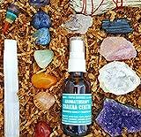 16 pcs Chakra Crystal Healing Kit! / Lot of Chakra tumbles, Amethyst Cluster, Raw stones, Sage, Meditation Spray + more. Bohemian Gift Set! (Lot A)
