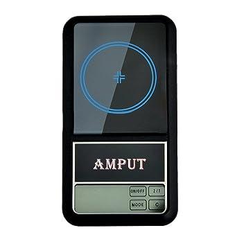 Amput APTP446 (100g-0.01g) Báscula Balanza Escala del bolsillo Digital LED Electrónica