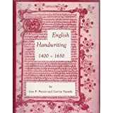 img - for English Handwriting, 1400-1650 : An Introductory Manual book / textbook / text book