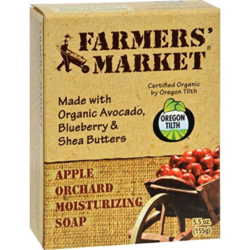 Price comparison product image dolly2u Farmer's Market Natural Bar Soap Apple Orchard - 5.5 oz