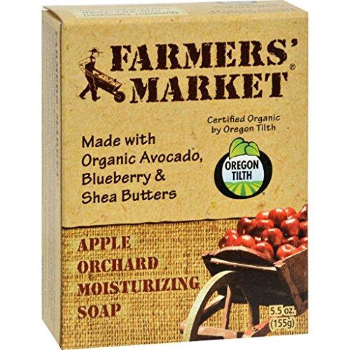 Dolly2u Farmers Market Natural Bar Soap Apple Orchard   5 5 Oz