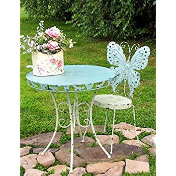 Amazon Com Butterfly Bistro Set Antique Outdoor And
