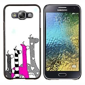 Dragon Case - FOR Samsung Galaxy E5 E500 - love others unconditionally - Caja protectora de pl??stico duro de la cubierta Dise?¡Ào Slim Fit