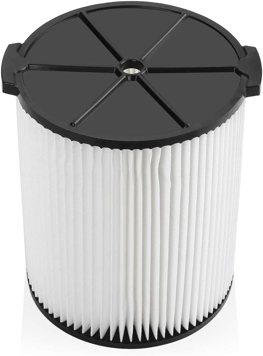 Housmile Replacement Filter Ridgid VF4000 Vacs Compatible with Ridgid 5-20 Gallon Wet/Dry Vacuums