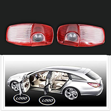 Door Welcome Light Pair of Car LED Door Step Welcome Projector Ghost Courtesy Shadow Light