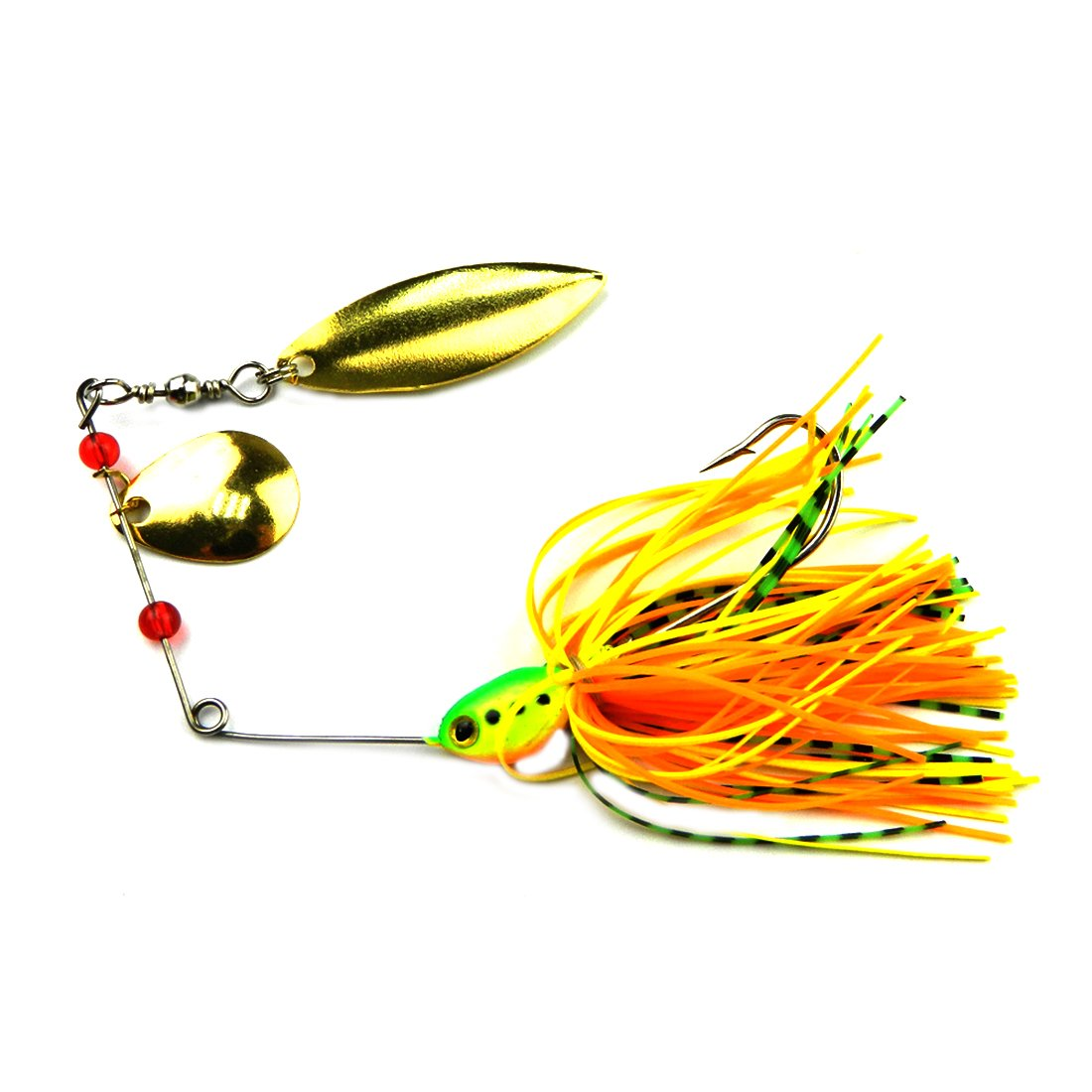 NoyoKere Spinner Bait m/étal leurre dur leurre Spinners Hard Baits couleur al/éatoire