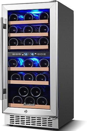 Aobosi-15-inch-30-Bottle-Wine-Refrigerator-Built-in