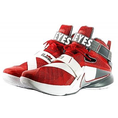 pretty nice e927b 6a76c Amazon.com | Nike Lebron Zoom Soldier IX 9 Premium Ohio ...