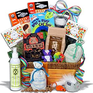 Ultimate Pampered Cat Gift Basket™